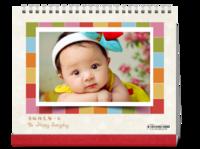 幸福天使(宝宝、个人写真)-10寸照片台历