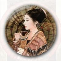 蒙古花-7.5个性徽章