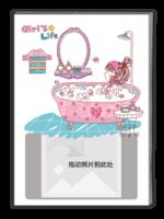 Girl's life(女生/闺蜜专用纪念册,毕业册)-A4杂志册(32P)