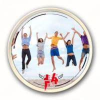 奋斗的青春-4.4个性徽章