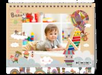 宝贝的幻想世界-8寸双面印刷台历