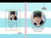 小小梦想(封面封底图片可替换)-精装硬壳照片书60p