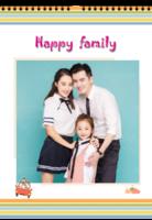 HAPPY FAMILY(照片可换A3双月挂历)-A3双月挂历