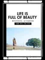 美好生活-A4杂志册(40P)
