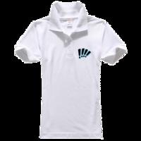 国外 t恤图案 潮流图案 潮流设计图片-女款纯色POLO衫