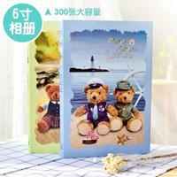 泰迪熊6寸记事插页相册影集