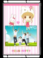 萌女孩、可爱宝贝、最美女孩、全家福(封面照片可换)-A4杂志册(32P)