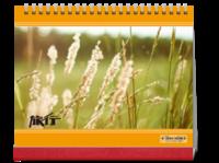 旅行-全家旅行-个人旅行-公司旅行-通用(照片可换10HD台历)-10寸照片台历