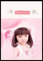 baby story(记录宝贝成长的点滴)-A4环装杂志册26p