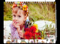 花丛中的小女孩儿--8寸双面印刷台历