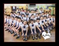 我们毕业了-幼儿园毕业-照片可换-8寸横式木版画