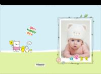 可爱宝贝萌萌哒 幸福快乐的小宝宝 欢乐童年-硬壳对裱照片书20P