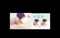 清新时尚 童年记忆 快乐宝贝happy baby 9211646-陶瓷马克变色杯