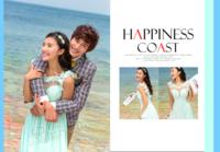 幸福海岸(爱情、婚纱、旅行页内外照片可替换)-青葱岁月照片书