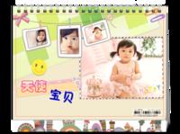 【天使宝贝】记录宝宝每个瞬间,亲子,全家福-8寸双面印刷台历