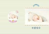 甜美小清新-可爱宝贝(封面照片可替换)-8x12高清绒面锁线80P
