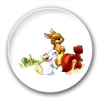 三只小兔子-4.4个性徽章