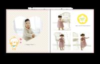 最新儿童模板{好运宝贝}系列-贝蒂斯8X8照片书