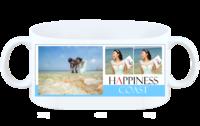 幸福海岸 浪漫爱情海滩纪念婚纱外景-白杯