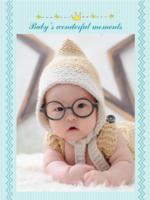 宝贝的精彩时刻 -H4Baby's wonderful moments710-16寸竖式海报