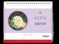 清新唯美写真#-10寸单面印刷台历