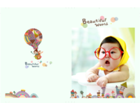 beautiful world 美丽世界 插画童年记忆1027-A4硬壳照片书24P