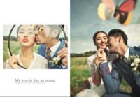 爱&玫瑰,高端极简风-拾光印记照片书