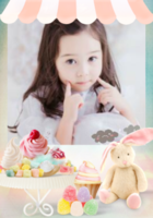 超萌甜品屋可爱36张不同拍立得-彩边拍立得竖款(36张P)