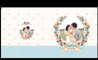 幸福花嫁-照片可替换-8X8锁线硬壳精装照片书24p
