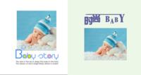 时尚宝贝幸福童年亲子精美照片书-方8硬壳照片书40p