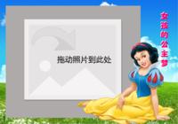 女孩的公主梦系列二-彩边拍立得横款(18张P)