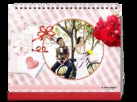 爱情礼物情人节-我们的美好生活-幸福时光-10寸双面印刷台历