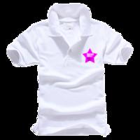 我的青春我做主-男款纯色POLO衫