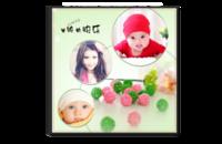 宝贝幸福生活-单纯的快乐-8x8水晶照片书