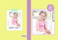 oh!happy day!哦,快乐的一天!1381-高档纪念册32p
