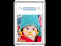 Baby Story(记录宝贝成长的点滴)-A4时尚杂志册(24p)