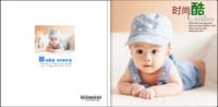 时尚酷宝贝 宝宝写真 儿童写真-8x8轻装文艺照片书80p