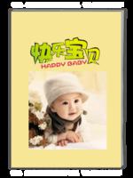 快乐宝贝-萌娃-亲子-照片可替换-A4杂志册(40P)