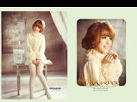 安娜公主-个人甜美写真-8x12对裱特种纸22p套装