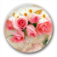 玫瑰花语-7.5个性徽章