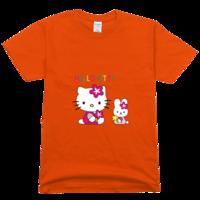 hellokitty高档彩色T恤
