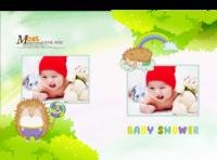 童梦王国(baby秀)--亲子 卡通 萌 可爱 诞生记-硬壳精装照片书30p