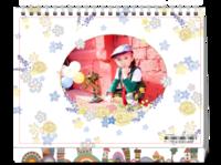 幸福童年-8寸双面印刷台历