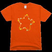 星星高档彩色T恤