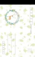 日式文艺小清新叶子花环麋鹿6-正方留白明信片(竖款)套装
