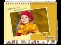 新年新气象之快乐童年(封面图片可替换)-8寸单面印刷台历