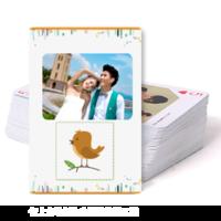 卡通小鸟-双面定制扑克牌