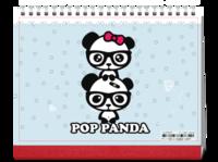可爱小熊-8寸单面印刷跨年台历
