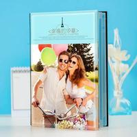 自由DIY--8x12双面水晶印刷照片书20p