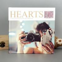 自由DIY-方8硬壳照片书24p(亮膜)